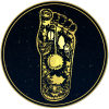 Foot gold site icon